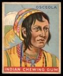1933 Goudey Indian Gum #29  Osceola   Front Thumbnail