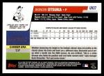 2006 Topps Update #37  Akinori Otsuka  Back Thumbnail