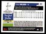 2006 Topps Update #61  Craig Wilson  Back Thumbnail