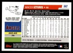 2006 Topps Update #87  Maicer Izturis  Back Thumbnail