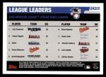 2006 Topps Update #205   -  Carl Crawford / Chone Figgins / Ichiro Suzuki AL SB Leaders Back Thumbnail