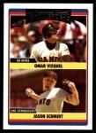 2006 Topps Update #304   -  Omar Vizquel / Jason Schmidt Giants Team Leaders Front Thumbnail