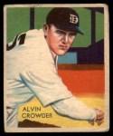 1935 Diamond Stars #93  Alvin General Crowder   Front Thumbnail