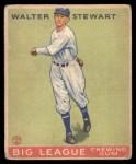 1933 Goudey #146  Walter Stewart  Front Thumbnail