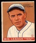 1933 Goudey #170  Harry McCurdy  Front Thumbnail