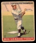 1933 Goudey #13  Lafayette Thompson  Front Thumbnail