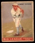 1933 Goudey #6  Jimmy Dykes  Front Thumbnail