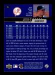 2000 Upper Deck #176  Derek Jeter  Back Thumbnail