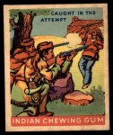 1933 Goudey Indian Gum #174   Caught in the Attempt  Front Thumbnail