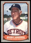 1988 Pacific Legends #46  Sparky Anderson  Front Thumbnail