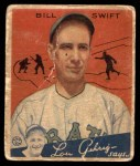 1934 Goudey #57  Bill Swift  Front Thumbnail