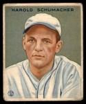 1933 Goudey #240  Hal Schumacher  Front Thumbnail