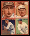 1935 Goudey  Goose Goslin / General Crowder / Heinie Schuble / Fred Marberry  Front Thumbnail