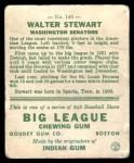 1933 Goudey #146  Walter Stewart  Back Thumbnail