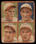 1935 Goudey  Bruce Campbell / Billy Meyers / Ival Goodman / Alex Kampouris  Front Thumbnail