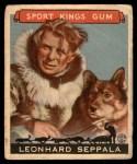 1933 Goudey Sport Kings #48  Leonhard Seppala   Front Thumbnail