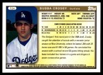 1999 Topps Traded #24 T Bubba Crosby  Back Thumbnail