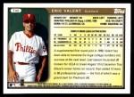 1999 Topps Traded #45 T Eric Valent  Back Thumbnail