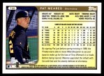 1999 Topps Traded #88 T Pat Meares  Back Thumbnail