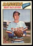 1977 Topps Cloth Stickers #5  Bert Blyleven  Front Thumbnail
