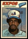 1977 Topps Cloth Stickers #12  Dave Cash  Front Thumbnail