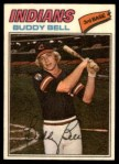 1977 Topps Cloth Stickers #2  Buddy Bell  Front Thumbnail
