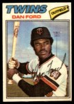 1977 Topps Cloth Stickers #16  Dan Ford  Front Thumbnail