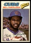 1977 Topps Cloth Stickers #25  Bill Madlock  Front Thumbnail