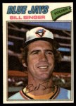 1977 Topps Cloth Stickers #44  Bill Singer  Front Thumbnail