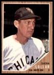 1962 Topps #514  Sherm Lollar  Front Thumbnail