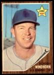 1962 Topps #254  Gordon Windhorn  Front Thumbnail