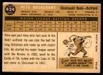 1960 Topps #424  Pete Whisenant  Back Thumbnail