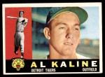 1960 Topps #50  Al Kaline  Front Thumbnail