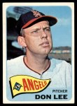 1965 Topps #595  Don Lee  Front Thumbnail