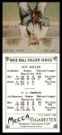 1911 T201 Mecca Reprint #39  Dots Miller  Back Thumbnail