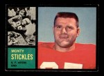 1962 Topps #155  Monty Stickles  Front Thumbnail