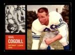 1962 Topps #53  Gail Cogdill  Front Thumbnail