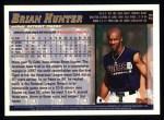 1998 Topps #34  Brian Hunter  Back Thumbnail
