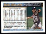 1998 Topps #53  Dave Hollins  Back Thumbnail