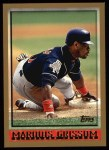 1998 Topps #70  Marquis Grissom  Front Thumbnail