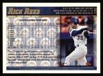 1998 Topps #132  Rick Reed  Back Thumbnail