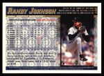 1998 Topps #150  Randy Johnson  Back Thumbnail