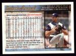 1998 Topps #152  Chuck Finley  Back Thumbnail