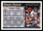1998 Topps #161  Roger Pavlik  Back Thumbnail