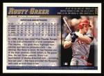 1998 Topps #220  Rusty Greer  Back Thumbnail