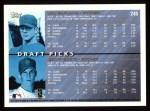 1998 Topps #245  Jon Garland / Geoff Goetz  Back Thumbnail