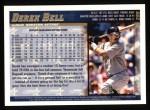 1998 Topps #299  Derek Bell  Back Thumbnail