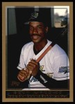 1998 Topps #349  Fred McGriff  Front Thumbnail