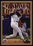 1998 Topps #477   -  John Olerud Season Highlights Front Thumbnail