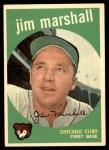 1959 Topps #153  Jim Marshall  Front Thumbnail